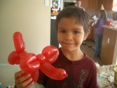 elephant balloon animal
