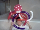 Octopus Balloon Art