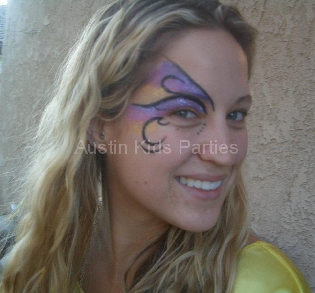 artistic face painting
