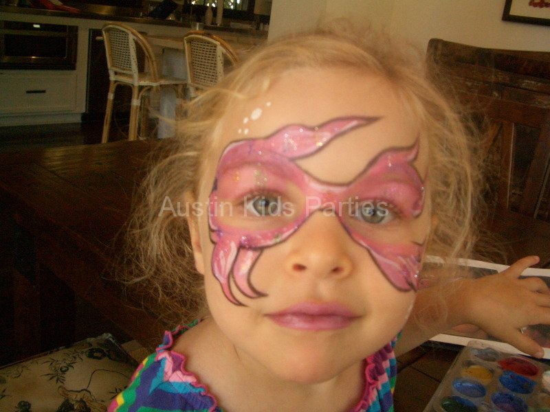 face painting of a fish